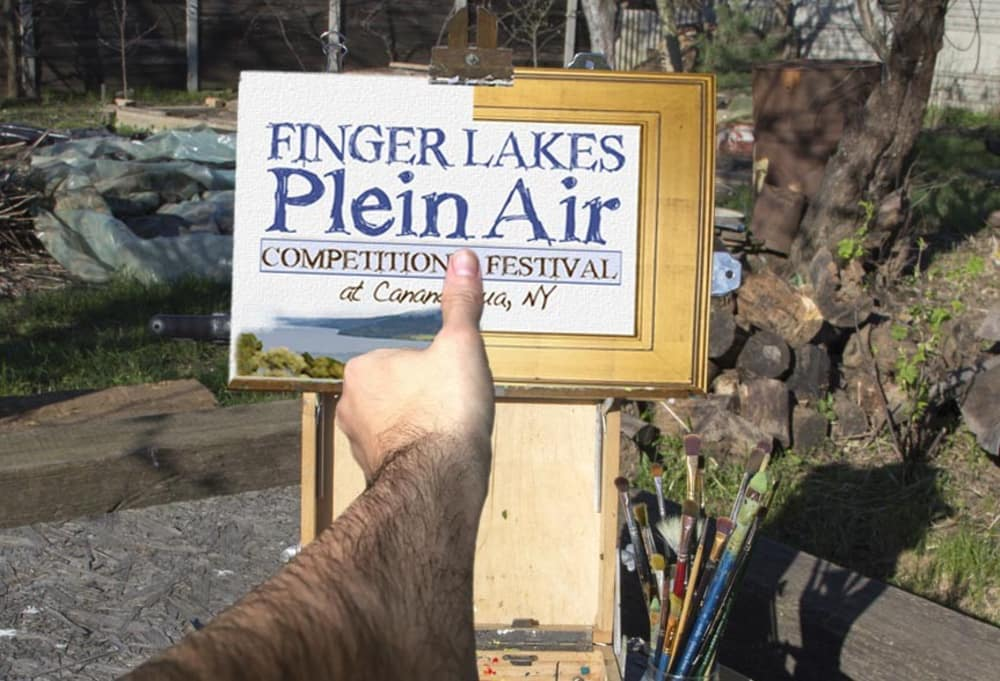 Get Set for the 2018 Finger Lakes Plein Air Festival!